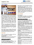 Ausgabe 01/2011 - Volksbank-Raiffeisenbank Dingolfing eG - Seite 6