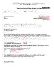 Musteranschreiben für die Wandlung - Volksbank Hochrhein eG