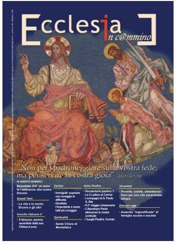 settembre 2008.qxp - Diocesi Suburbicaria Velletri - Segni