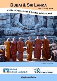 Reiseprospekt Dubai und Sri Lanka - Volksbank Hochwald ...