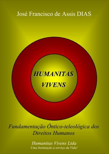 CAPÍTULO I - Humanitas Vivens - Editora On-line