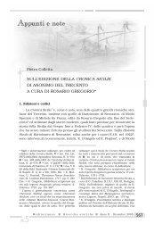 567 sull'edizione della cronica sicilie di anonimo del trecento a cura ...