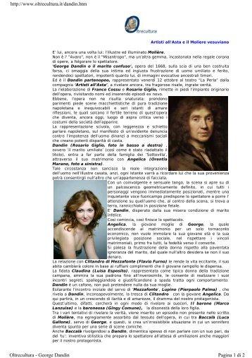http://www.oltrecultura.it/dandin.htm Pagina 1 di 2 Oltrecultura ...