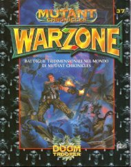 Mutant Chronicles WarZone - Rulebook 1a Edizione (36 MB ITA)