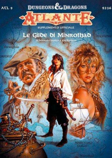 Atlante 9: Le Gilde di Minrothad - Mystara