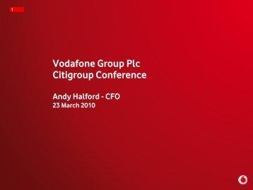 Download presentation - Vodafone