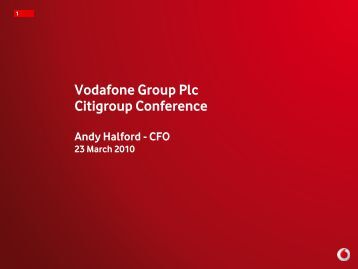 Download presentation - Vodafone