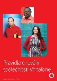 Pravidla chování společnosti Vodafone