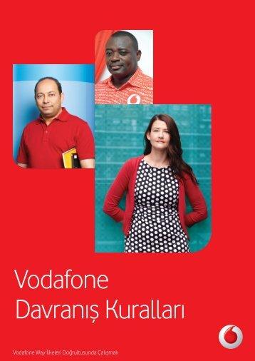 Vodafone Davranış Kuralları