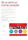 Codul de conduită Vodafone - Page 6