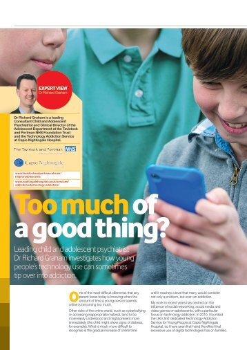 Leading child and adolescent psychiatrist Dr Richard ... - Vodafone