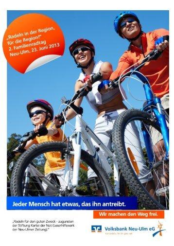 """""""Radeln in der Region, für die Region!"""" 2. Familienradtag Neu-Ulm ..."""