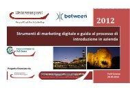 strumenti di marketing digitale - Camera di Commercio di Forlì-Cesena