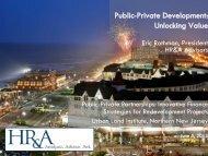 Public-Private Development: Unlocking Value