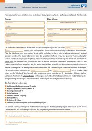 Nutzungsvertrag inkl. Anweisung und Bedingungen Hüpfburg