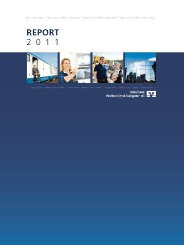 Jahresbericht 2011 (PDF-Version) - Volksbank Wolfenbüttel ...