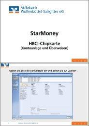 HBCI-Chipkarte: Kontoeinrichtung & Überweisen - Volksbank ...