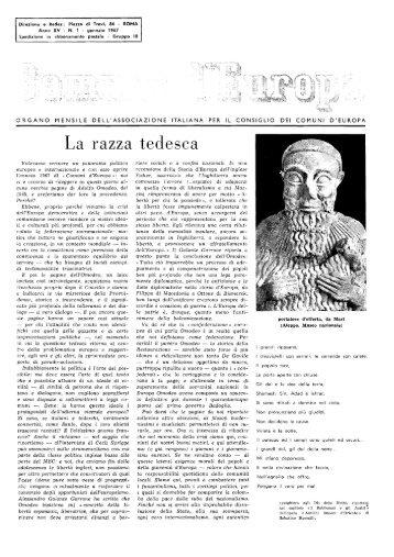 Anno XV Numero 1 - renatoserafini.org