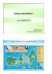 Campo interambito 1 a.a. 2009-2010 - Dipartimento di Scienze della ...