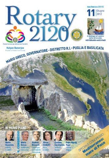 i grandi eventi distrettuali - Distretto 2120
