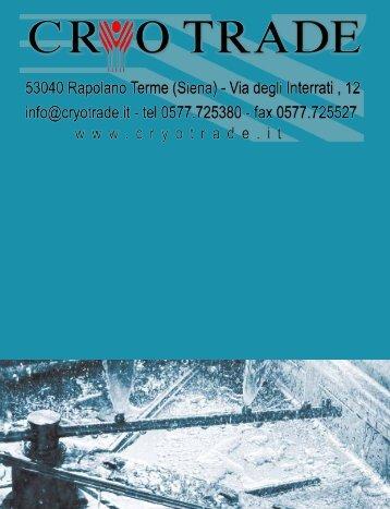 06. lavaggio - Cryo Trade