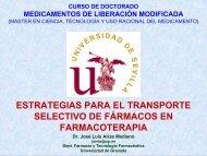 Estrategias para el transporte selectivo de ... - Personal.us.es