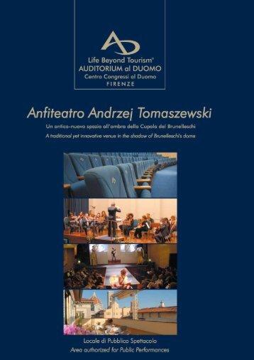 Anfiteatro Andrzej Tomaszewski - Auditorium al Duomo Florence