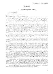 Capitolo 2 - Piani di Bacino - Provincia di Imperia
