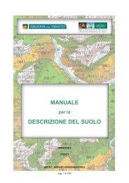 Manuale per la descrizione del suolo - Arpav