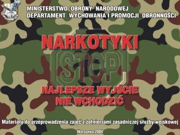 NARKOTYKI - PREZENTACJA (wp) - Wojsko Polskie