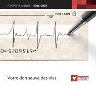Rapport annuel 2006-2007 (PDF 4.2Mo) - Fondationicm.org