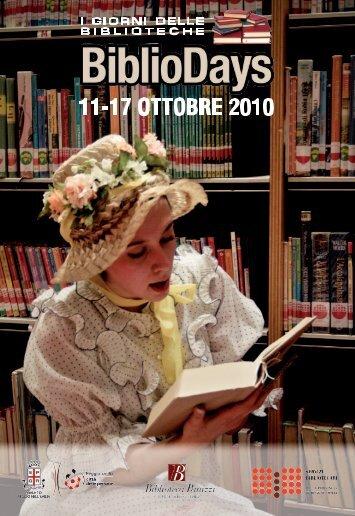 Giugno - luglio 2009 - Biblioteca Panizzi - Comune di Reggio Emilia
