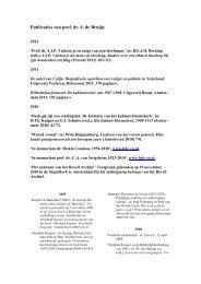 Publicaties van prof - Faculteit der Rechtsgeleerdheid