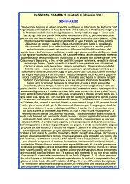 Rassegna stampa 8 febbraio 2011 def.pdf - Webdiocesi
