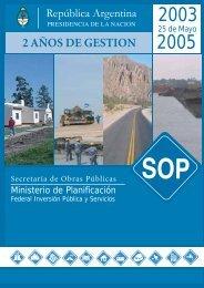 2 años de gestion - Ministerio de Planificación Federal, Inversión ...