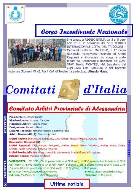 Fipav Veneto Calendario.Compleanni Redazione Nu