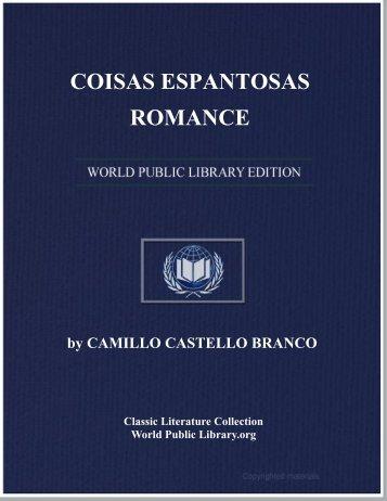 COISAS ESPANTOSAS: ROMANCE - World eBook Library