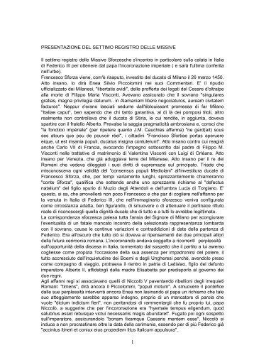 Registro missive n. 7 - Istituto Lombardo Accademia di Scienze e ...