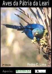Aves da Pátria da Leari - Sociedade Brasileira de Ornitologia