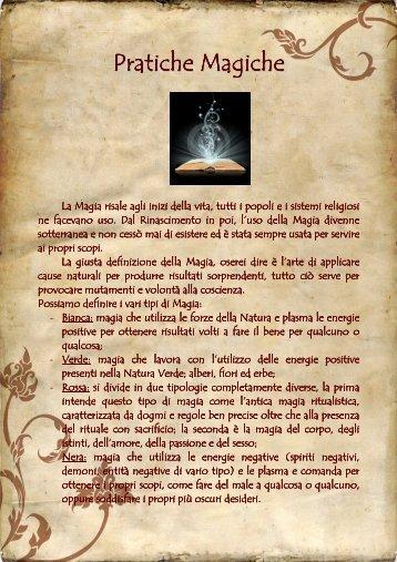 Pratiche Magiche - Studio Ambra