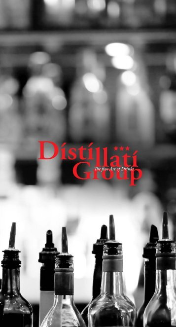 Distillati Group the - Barman
