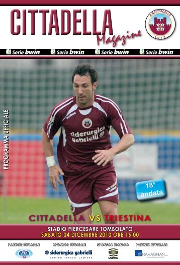 Magazine Magazine - AS Cittadella