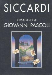 Omaggio a GIOVANNI PASCOLI - Associazione culturale amici per ...