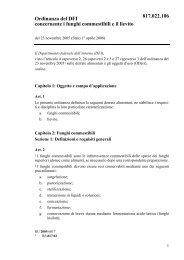 Ordinanza del DFI concernente i funghi commestibili e il ... - admin.ch