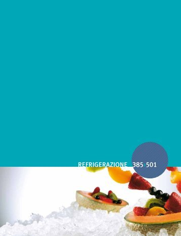 07. refrigerazione - Hotel Impianti sas