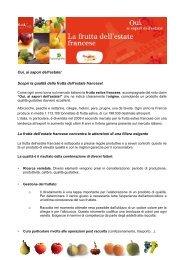 schede informative dettagliate su ogni tipologia di frutto - FreshPlaza