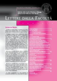 6.Lettere della Facoltà novembre-dicembre 2012.pdf - Facoltà di ...