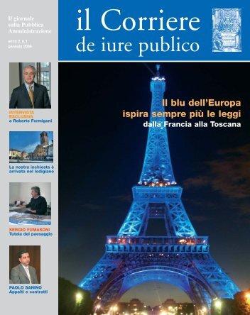 de iure publico 1 gennaio 2009