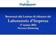 Presentazione standard di PowerPoint - Confartigianato - Bologna
