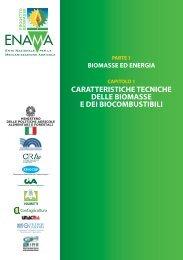 caratteristiche tecniche delle biomasse e dei biocombustibili - Enama